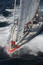 1 - Tara sailing ┬® F. Latreille Tara Expedition Foundation